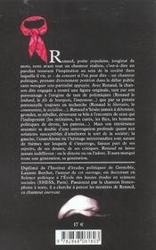 Renaud - 4ème de couverture - Format classique