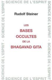 Bases occult. bhagavad. gita - Couverture - Format classique