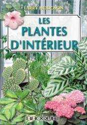 Les plantes d'intérieur - Couverture - Format classique