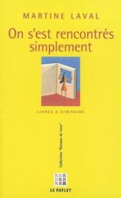 On S'Est Rencontre Simplement - Couverture - Format classique
