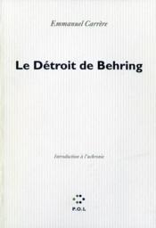 Le détroit de Behring ; introduction à l'uchronie - Couverture - Format classique
