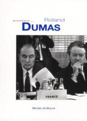 Entretiens avec Roland Dumas - Couverture - Format classique