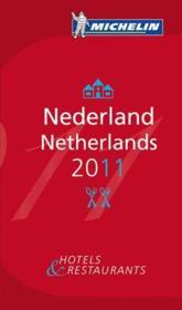 Guide michelin nederland 2011 - Couverture - Format classique