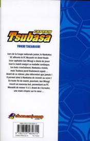 Captain Tsubasa T.9 - 4ème de couverture - Format classique