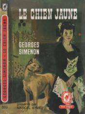 Le chien jaune - Couverture - Format classique
