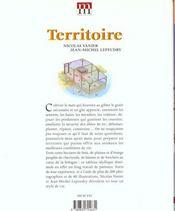 Territoire - 4ème de couverture - Format classique
