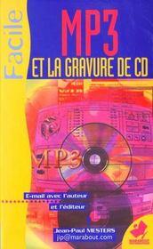 Graver Ses Cd Audio Et Mp3 - Intérieur - Format classique