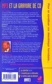 Graver Ses Cd Audio Et Mp3 - 4ème de couverture - Format classique
