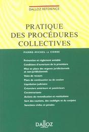 Procedures Collectives ; 1e Edition - Intérieur - Format classique