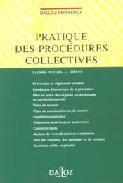 Procedures Collectives ; 1e Edition - Couverture - Format classique