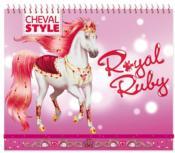 Je dessine mon cheval Royal Rubis - Couverture - Format classique