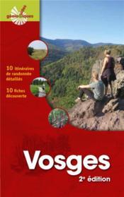 Vosges ; 10 itinéraires de randonnées détaillés (2e édition) - Couverture - Format classique
