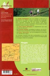 Vosges ; 10 itinéraires de randonnées détaillés (2e édition) - 4ème de couverture - Format classique