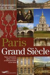 Paris Grand Siècle - Intérieur - Format classique