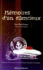 Mémoires d'un silencieux - Couverture - Format classique