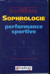 Sophrologie et performance sportive - Couverture - Format classique