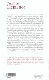 L'envol de clemence - 4ème de couverture - Format classique