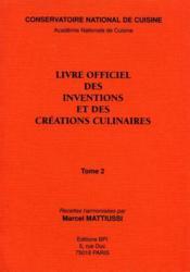Inventions Culinaires 2 - Couverture - Format classique