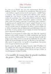 Gens sans terre - 4ème de couverture - Format classique