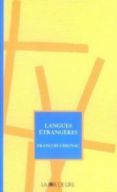 Langues étrangères - Couverture - Format classique