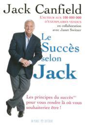 Le succès selon jack - Couverture - Format classique