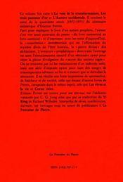 La consolation d'isaie - 4ème de couverture - Format classique