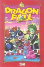 Dragon fall t.4 ; go ! go ! power ! - Couverture - Format classique