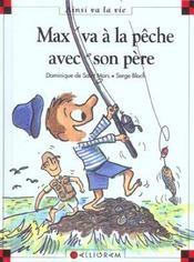 Max va à la pêche avec son père - Intérieur - Format classique
