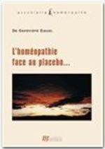 L'homéopathie face au placebo - Couverture - Format classique