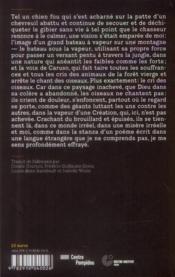 Conquête de l'inutile (eroberung des nutzlosen) - 4ème de couverture - Format classique