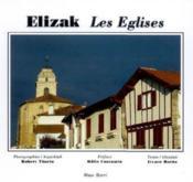 Elizak ; les églises - Couverture - Format classique