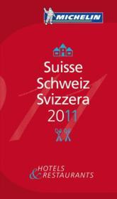 Guide michelin suisse 2011 - Couverture - Format classique
