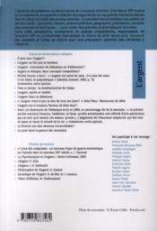 L'argent ; concours sciences po ; IEP 2011 ; dissertation sur le thème - 4ème de couverture - Format classique