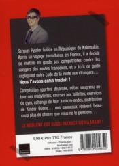 Le code de la route français - 4ème de couverture - Format classique