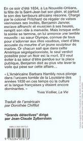 La Poussiere Des Ombres - 4ème de couverture - Format classique