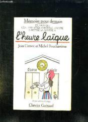 L Heure Laique. - Couverture - Format classique