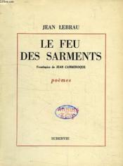 Le Feu Des Sarments - Couverture - Format classique