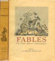 Fables De Jean De La Fontaine / Tomes Premier Et Second - Complet. - Couverture - Format classique