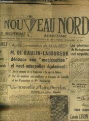 Le Nouveau Nord Maritime N°932 - 5eme Annee - Dimanche 6 Decembre 1949. - Couverture - Format classique