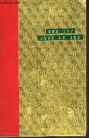 O.S.S. 117 Joue Le Jeu - Couverture - Format classique