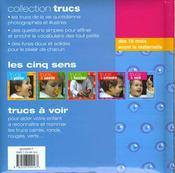 Trucs A Voir - 4ème de couverture - Format classique