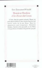 Resume de monsieur ibrahim et les fleures du coran personal writers for hire gb