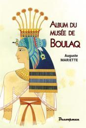 Album du musée de Boulaq - Couverture - Format classique