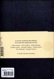 Lady - 4ème de couverture - Format classique