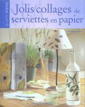 Jolis Collages De Serviettes En Papier - Intérieur - Format classique