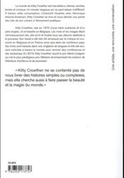 Conversation avec Kitty Crowther - 4ème de couverture - Format classique