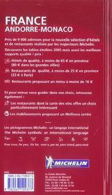 Guide Rouge - 4ème de couverture - Format classique