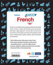 Workbook ; French ; intermediate - 4ème de couverture - Format classique