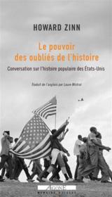 Conversation sur une histoire populaire des Etats-Unis ; entretiens - Couverture - Format classique