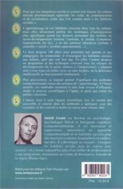 100 idées ; pour enseigner les habiletés sociales - 4ème de couverture - Format classique